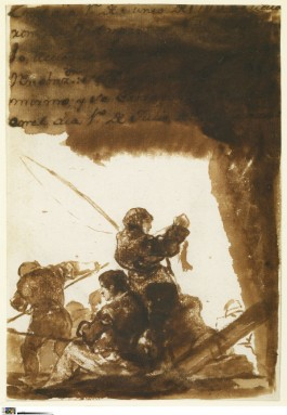 De vissers, ca. 1812-1820 - Goya (The Frick Collection, New York - Foto: Michael Bodycomb)
