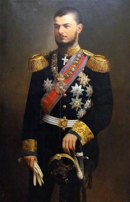 Alexander Obrenovitch, 1894