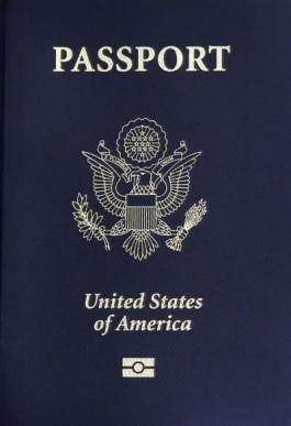 Amerikaans paspoort - cc