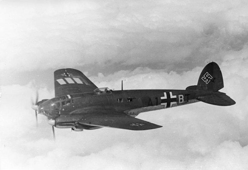 Heinkel He 111 bommenwerper - cc