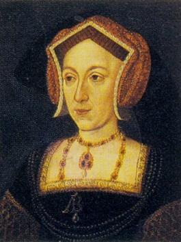 Het Nidd Hall-portret waarop volgende de onderzoekers waarschijnlijk Anne Boleyn te zien is
