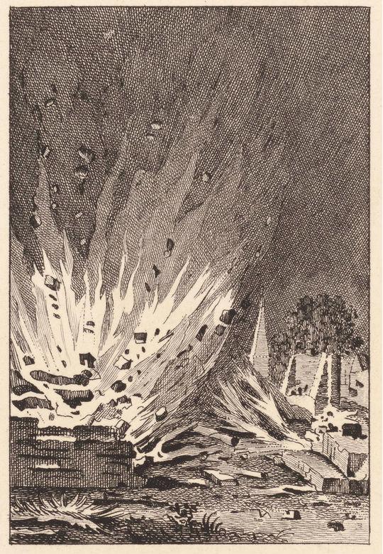 Het graf van Joan van der Capellen werd door orangisten uit Zutphen opgeblazen