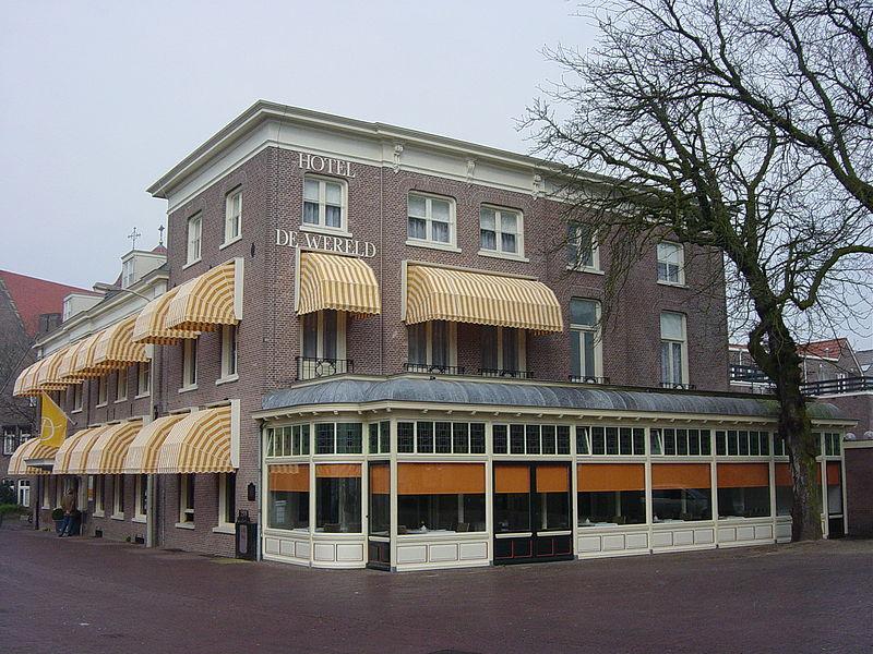 Hotel De Wereld in Wageningen - cc