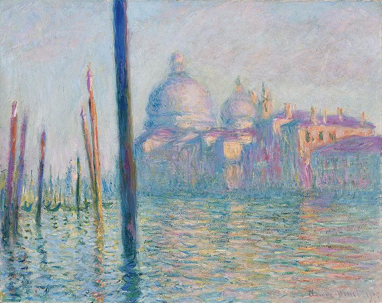 Le Grand Canal - Claude Monet