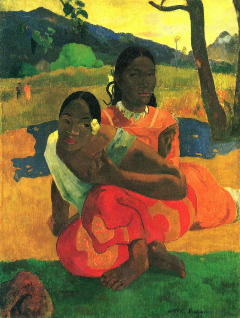 Nafea faa ipoipoi (Wanneer zal je trouwen?) - Paul Gauguis, 1892