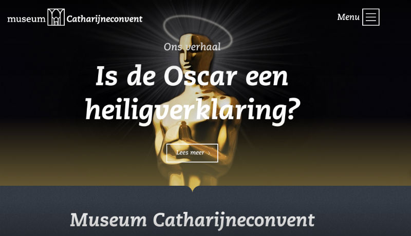 Nieuwe website Museum Catharijneconcent