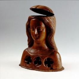 Reliekbuste van een gezellin van Ursula, Keulen, ca. 1350