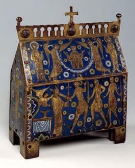 Reliekschrijn van Thomas Becket, Frankrijk, ca. 1200 (Catharijnevoncent)