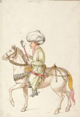 Albrecht Dürer, Oriental Rider, about 1495 © Albertina, Wien