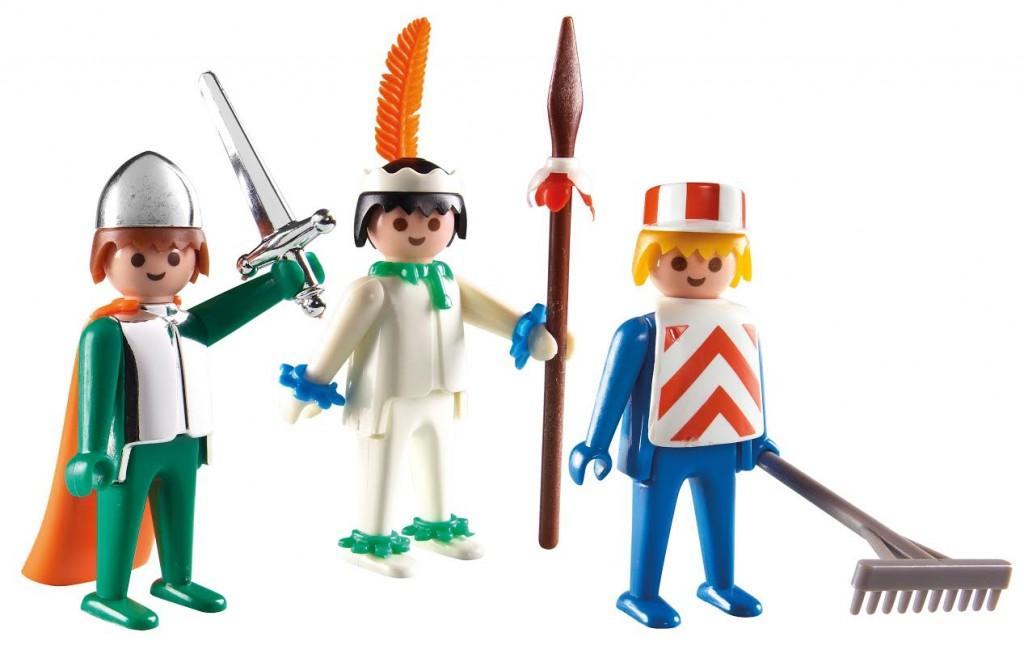 De eerste Playmobil-figuurtjes