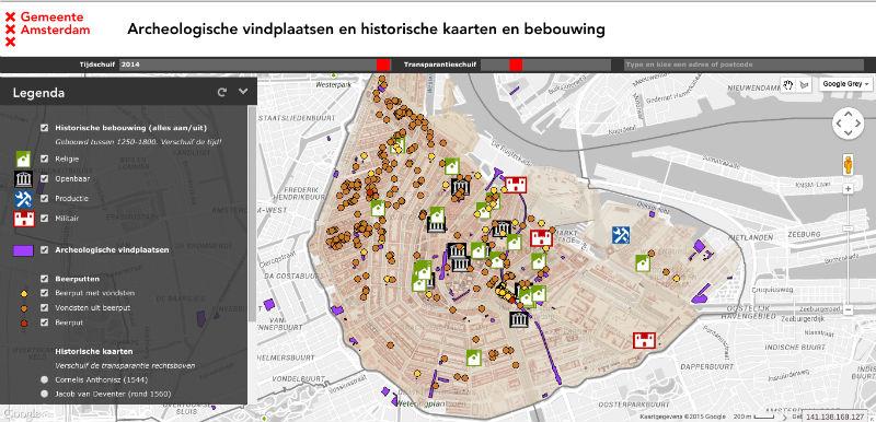 De informatieve kaart (Amsterdam.nl)