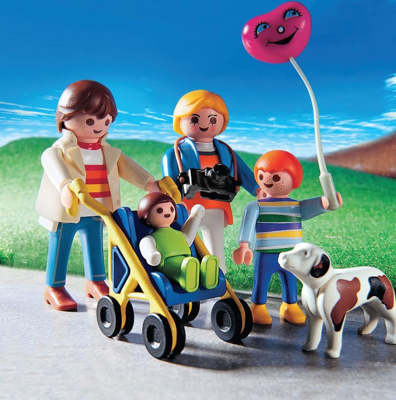 Een Playmobil-familie