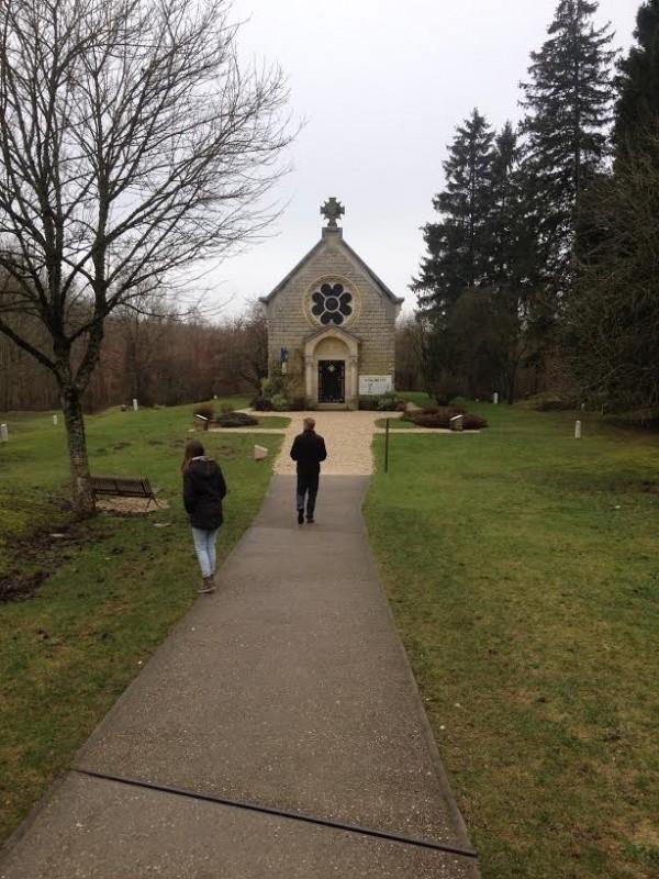Kapel bij één van de zeven verdwenen dorpen - Jurriaan Rigter