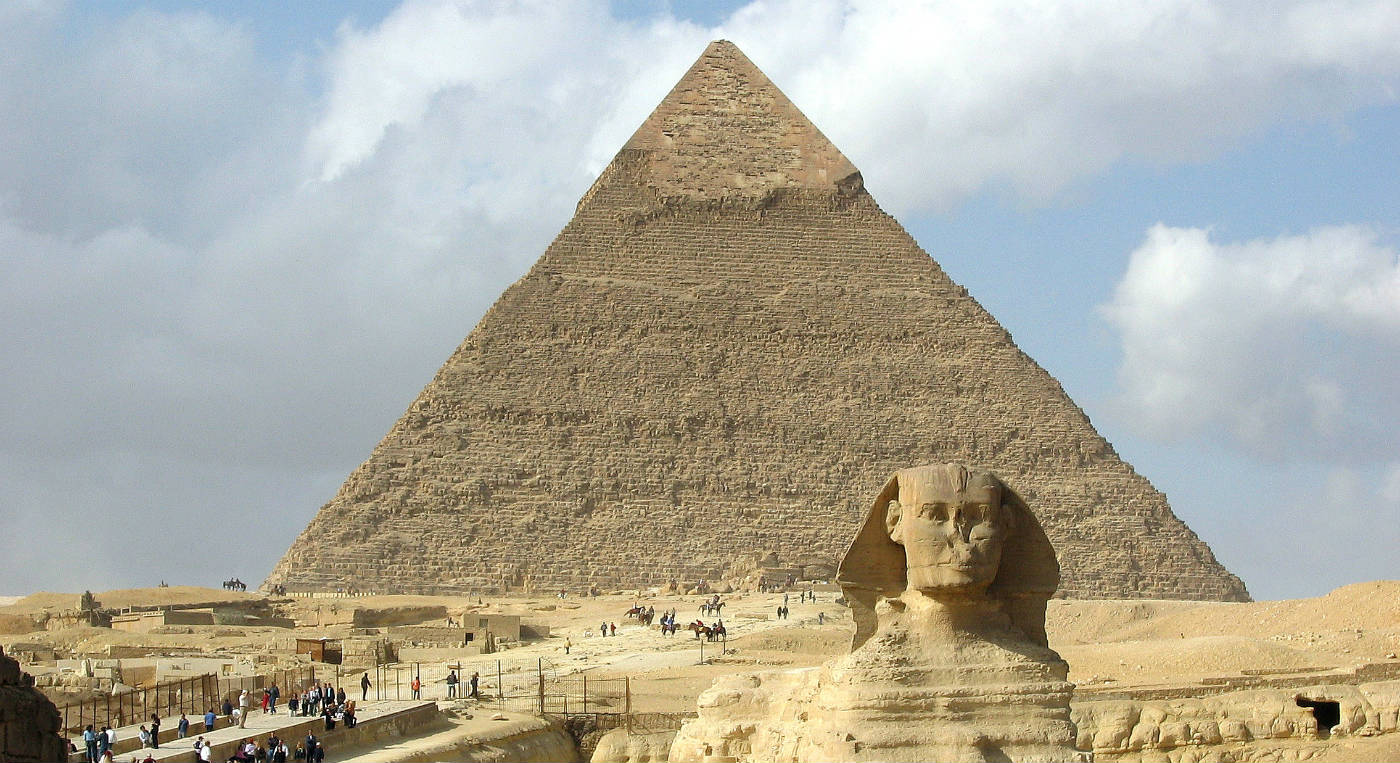 Piramide van Chefren - cc