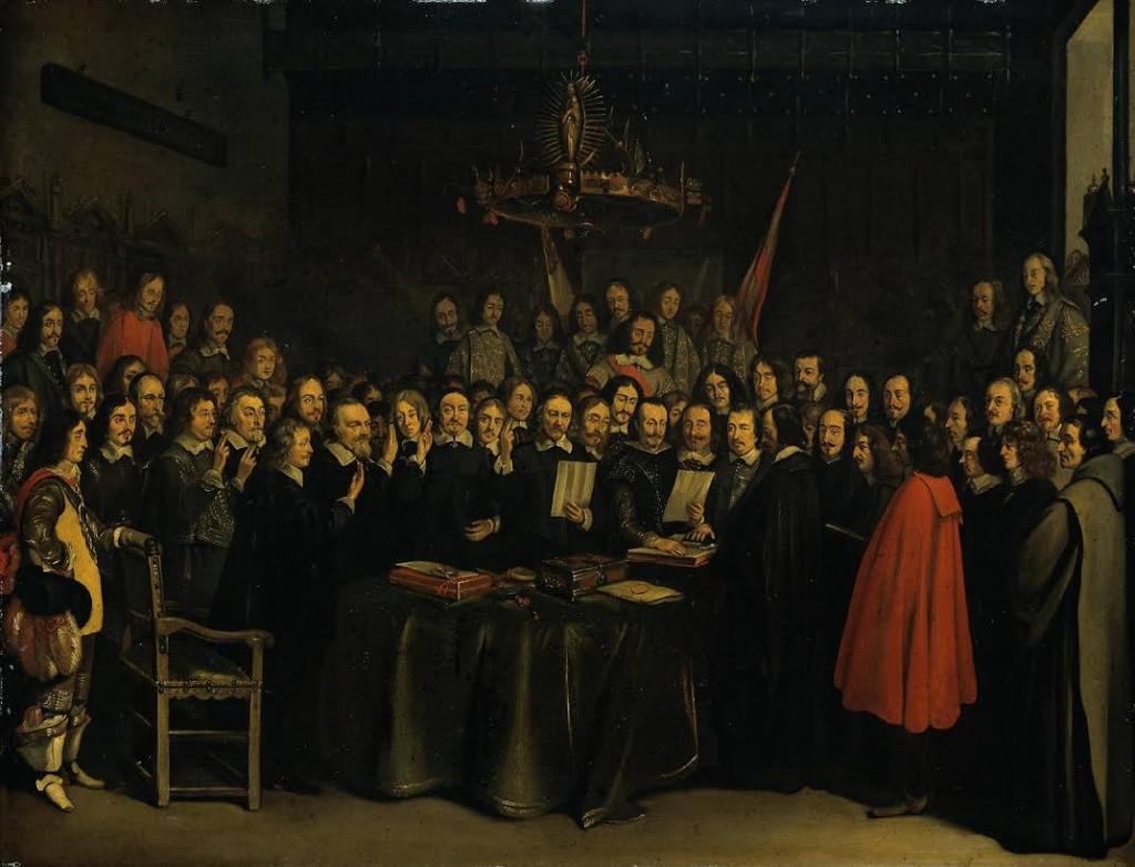 Vrede van Münster (Gerard ter Borch, 1648)