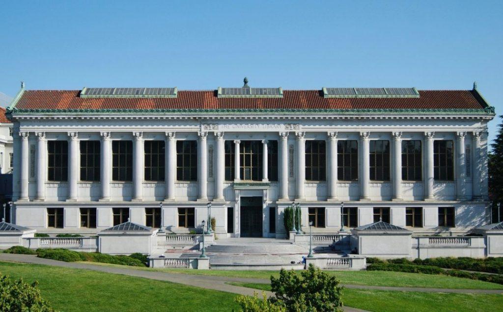 Bibliotheek van de University of California, Berkeley (CC BY-SA 4.0 - Louis H.G. - wiki)