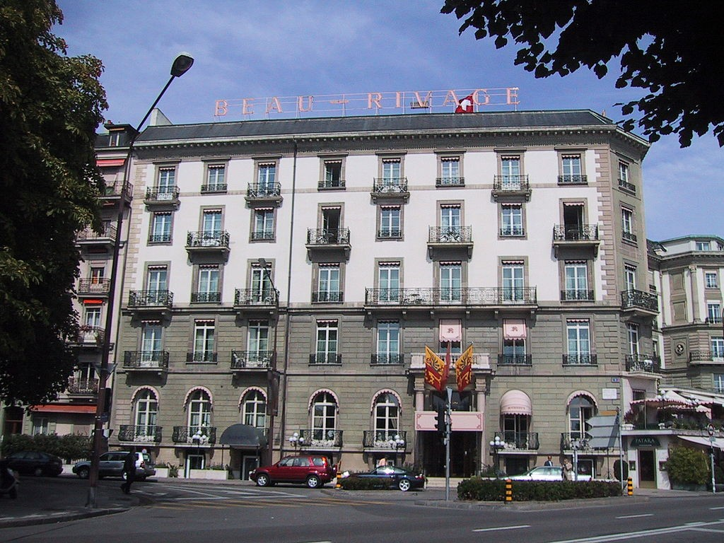 Beau-Rivage in Geneve