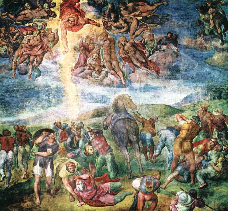 De bekering van Paulus, fresco van Michelangelo