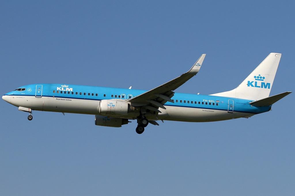 Een Boeing 737-800 - cc