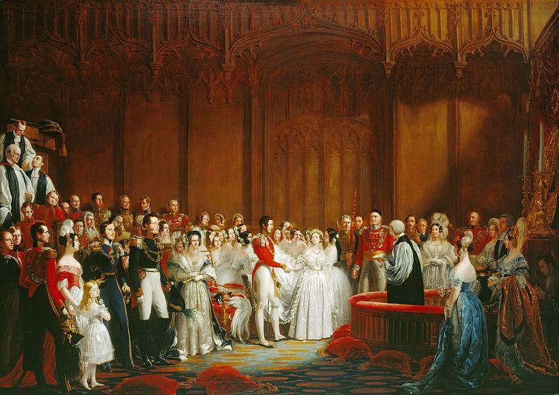 Huwelijk Victoria en Albert