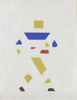 Bart van der Leck, Zaaier (Sower), 1921