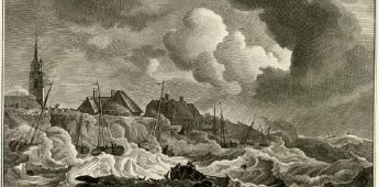 Angstaanjagend weer in de 18e eeuw