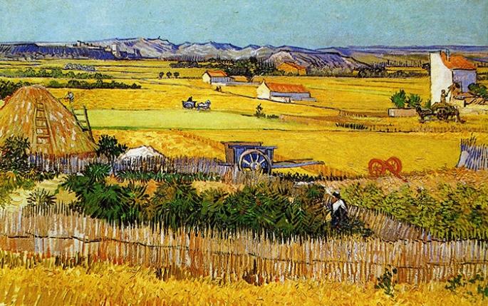 Schilderij dat Van Gogh in Arles maakte