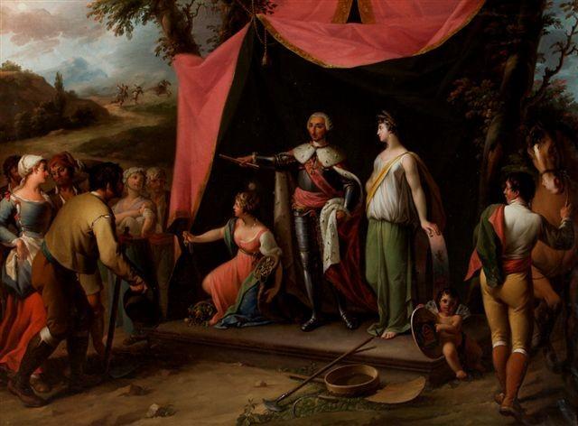 Stichting van La Carolina (Nuevas Poblaciones) door Carlos III