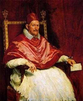 Velásquez, Innocentius X