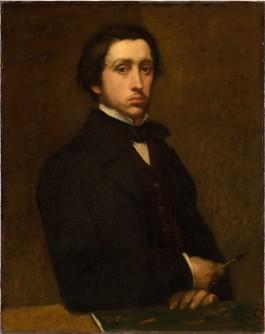 Zelfportret van Edgar Degas