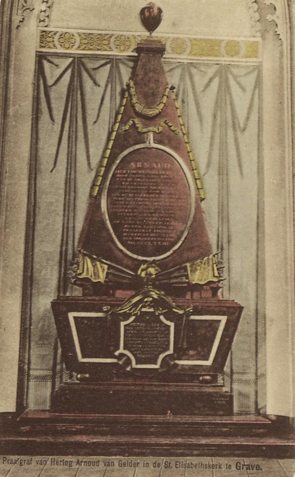 Praalgraf in de St. Elisabethskerk