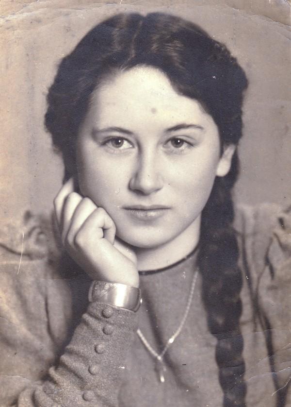 Brosch' oorlogsliefde Trude. Collectie F. Brosch