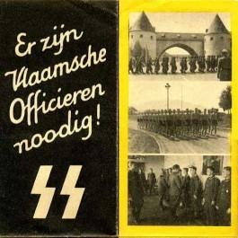 Propaganda voor de officiersschool van de Waffen SS in Bad Tölz (Bron : privé archief familie Daerden)