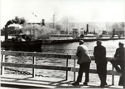 1944 Ponten aaneen foto: Historisch Archief Tuindorp Oostzaan