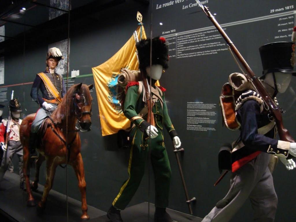 De prins van Oranje op weg naar Waterloo