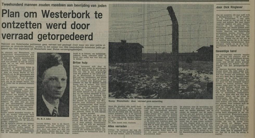 Nieuwe Leidse Courant (3 mei 1975) - Bron: http://leiden.courant.nu