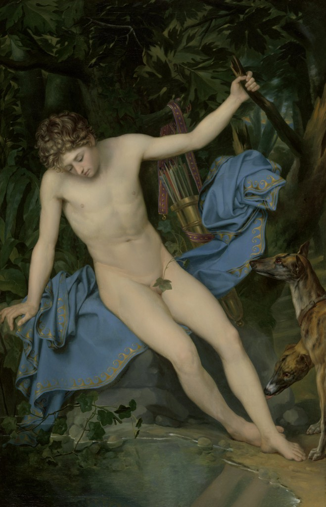 Joseph Denis Odevaere (Brugge 1775 - Brussel 1830) Narcissus, 1820 Olieverf op doek