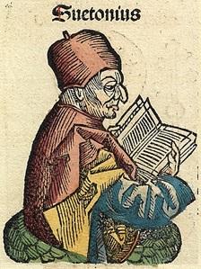Suetonius afbeelding uit Kroniek van Neurenberg 1493