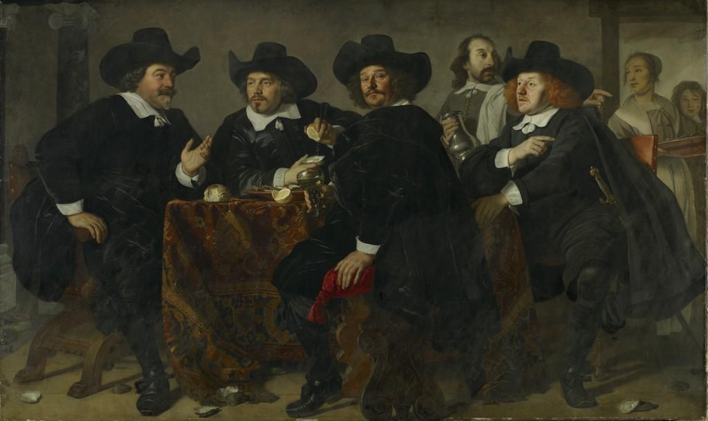 Bartholomeus van der Helst, De overlieden van de Kloveniersdoelen (1655)