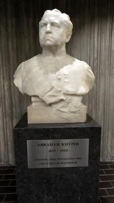 Borstbeeld van Abraham Kuyper - cc
