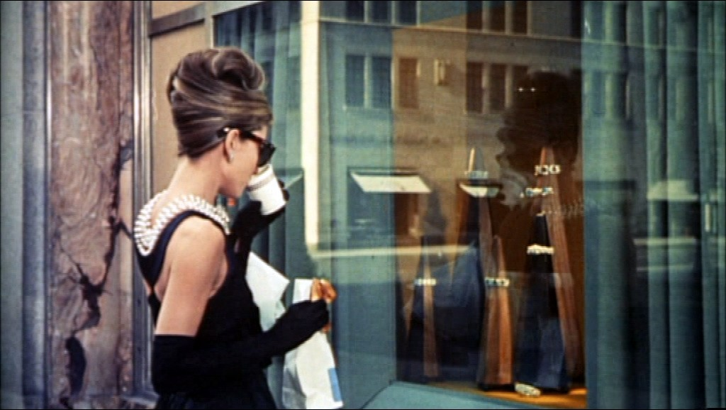 Audrey Hepburn in Breakfast at Tiffany's (Trailer Screenshot)