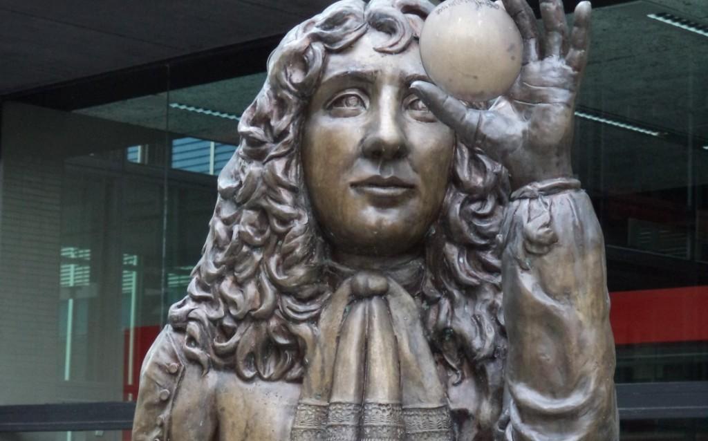 Borstbeeld van Christiaan Huygens - cc