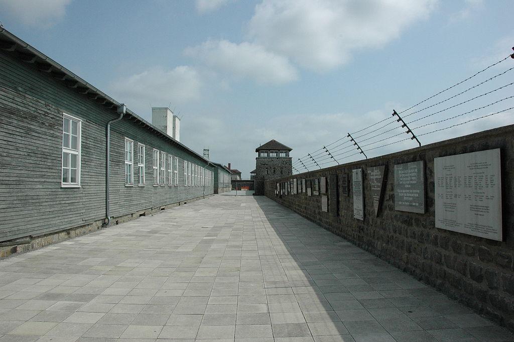 Deel van concentratiekamp Mauthausen - cc