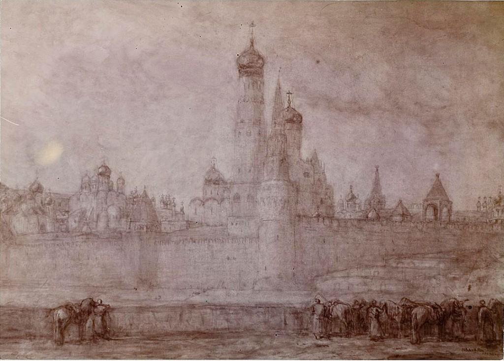 Kremlin Moskou - Marius Bauer (Geheugen van Nederland)