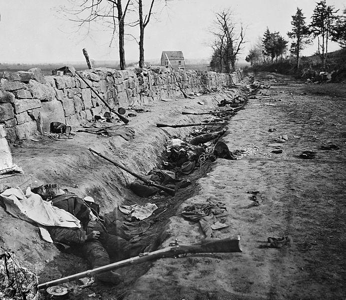 Loopgraaf Amerikaanse burgeroorlog