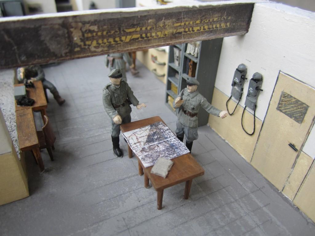 Maquette bunker