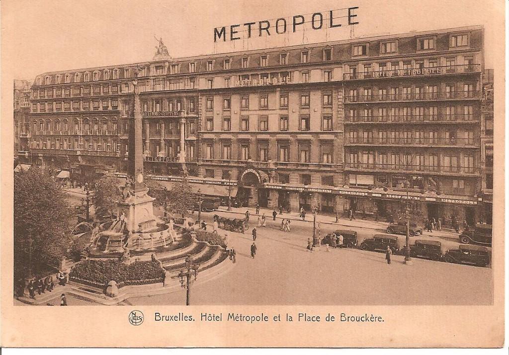 Hotel Metropole, Brussel. Bron: Wikipedia