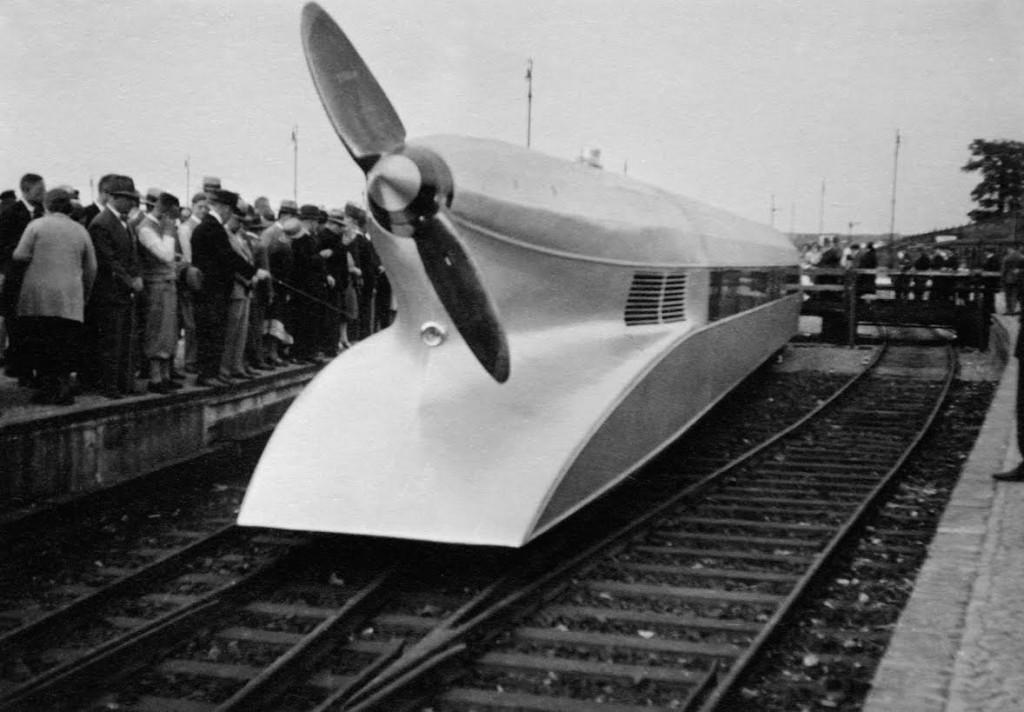 Schienenzeppelin, ca. 1930 (fotograaf onbekend)