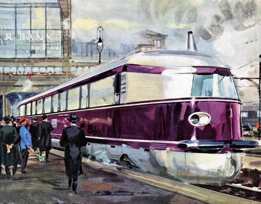 Der Fliegende Hamburger, 1932 (Walter Gotschke)