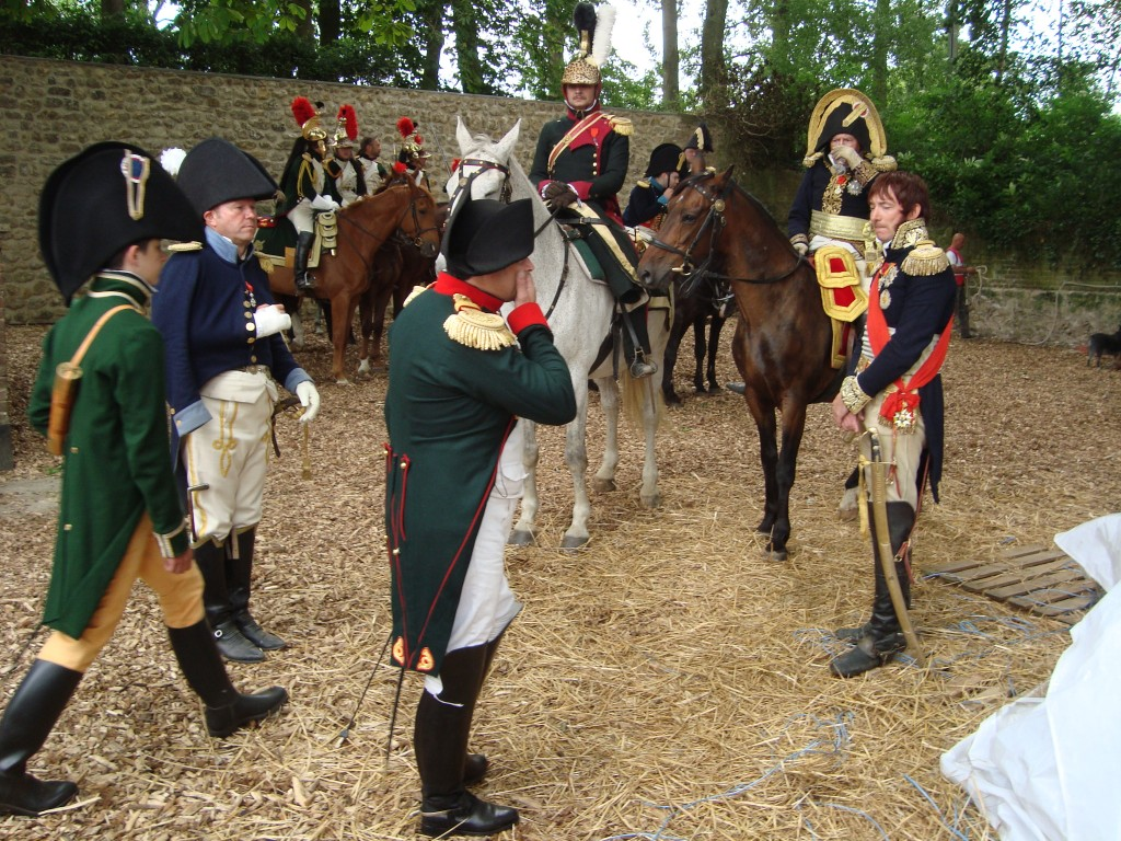 Waterloo 2015: de re-enactment